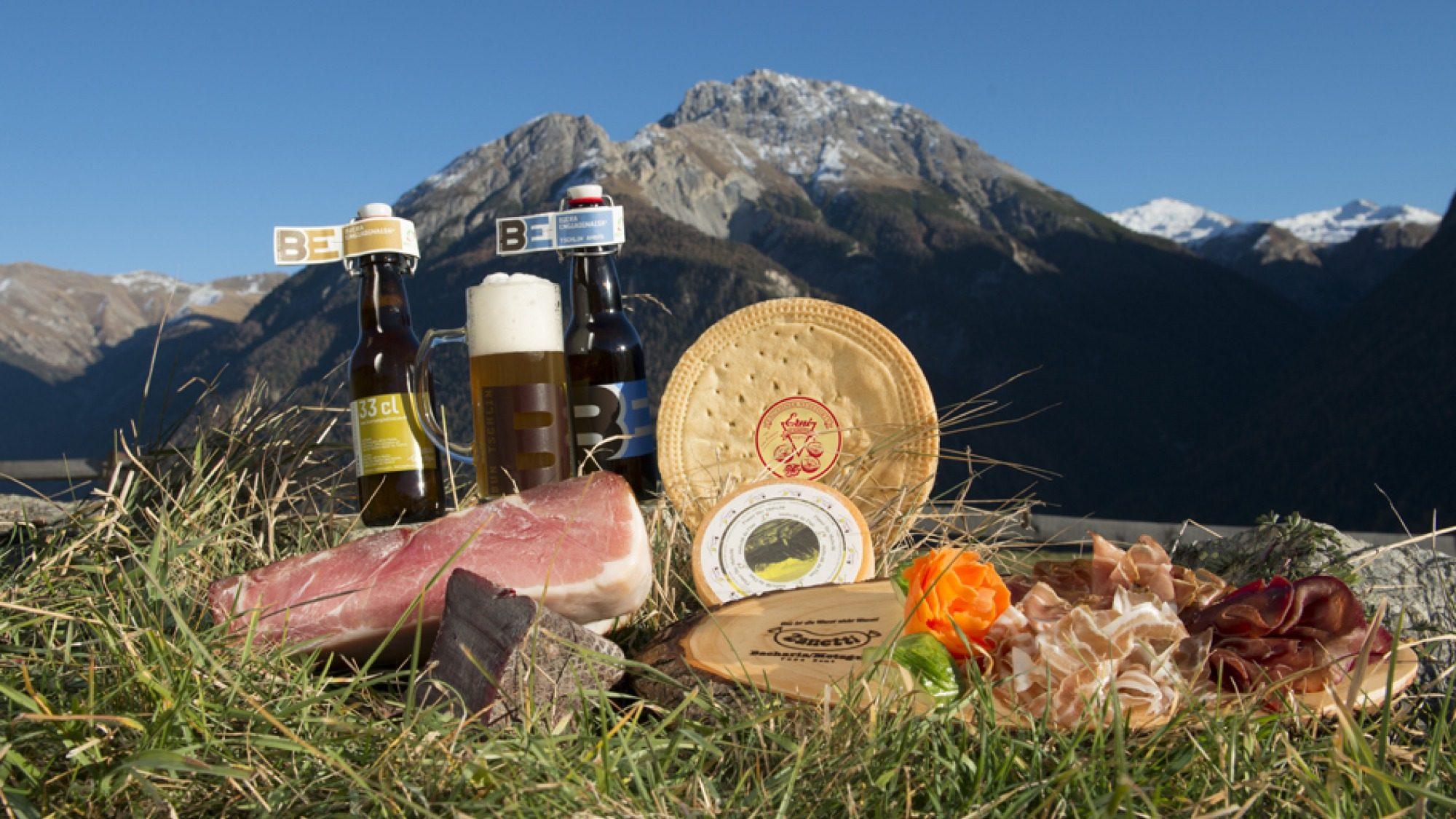 Geniessen Sie regionale Produkte im Hotel Bellavist Ftan